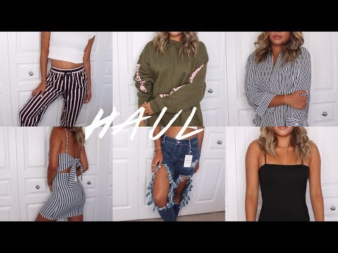 BACK TO SCHOOL TRY-ON CLOTHING HAUL   Maria Bethany - UCzj41PvS6wpzs4JkXTY0ikA