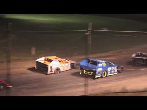 Open Mod A-Feature at Mid Michigan Raceway Park, Michigan on 06-18-2021!! - dirt track racing video image