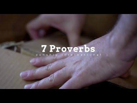 7 PROVERBS FOR LIFE  Eric Gilmour