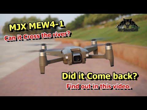 MJX MEW4-1 5G WiFi FPV Camera Aerial filming drone Range Testing - UCsFctXdFnbeoKpLefdEloEQ