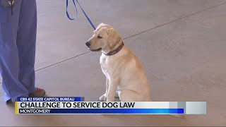 Alabama cracking down on fake service animals