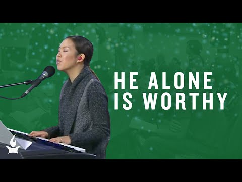 He Alone Is Worthy -- Christmas Highlights in the Prayer Room