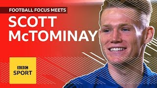 Man Utd's Scott McTominay plays two-touch, talks Chelsea win & PES | Football Focus | BBC Sport