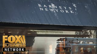 Barneys files for bankruptcy for second time