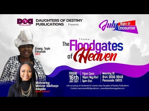 THE FLOODGATES OF HEAVEN - JOIN US