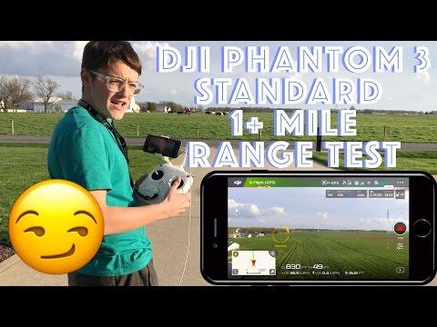 DJI Phantom 3 Standard Range Test! (6000+ FEET)