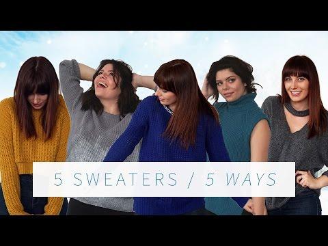 DIY SWEATER UPCYCLE 5 WAYS   THE SORRY GIRLS - UCSJWlswfVUgyVliZaEFoaBw