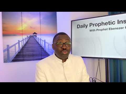 Prophetic Insight Jul 24th, 2021
