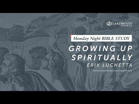 Erik Luchetta  Growing Up Spiritually (2019)