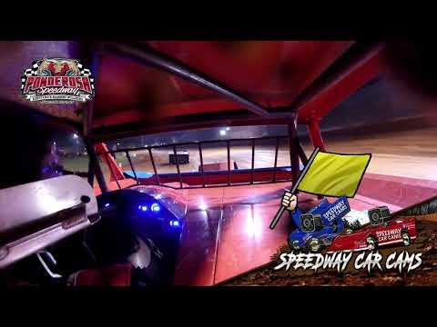 Winner #1 Bartley Grant - Super Stock - 8-6-21 Ponderosa Speedway - In-Car Camera - dirt track racing video image