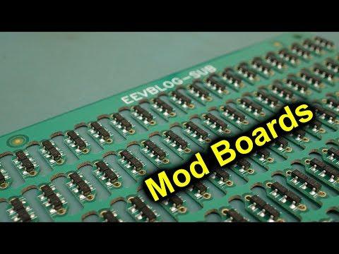 EEVblog #1158 - How To Create PCB Mod Boards - UC2DjFE7Xf11URZqWBigcVOQ