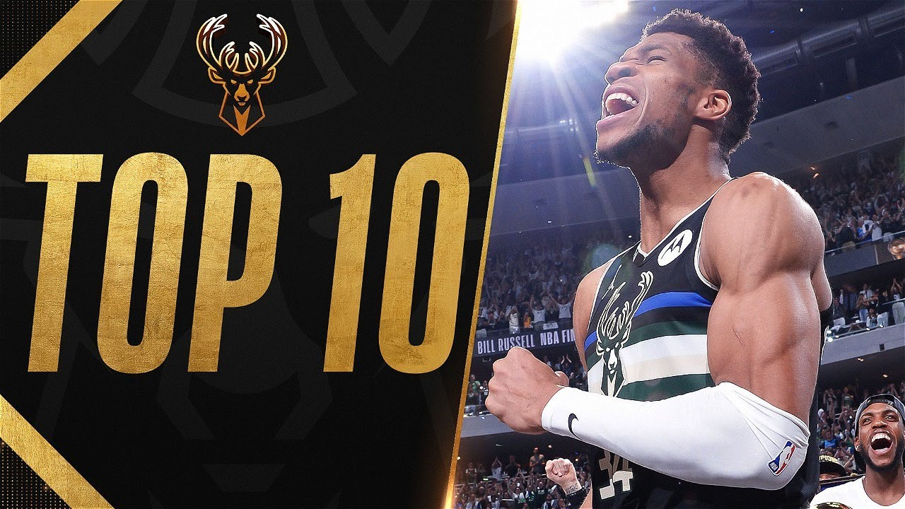 Giannis Top 10 Plays From The 2021 NBA Finals 🏆