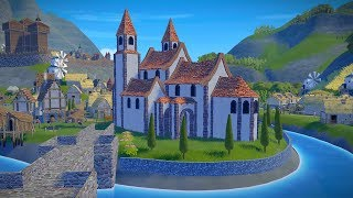 Foundation | Ep. 7 | HUGE Cathedral Construction Begins | City Building Tycoon Gameplay