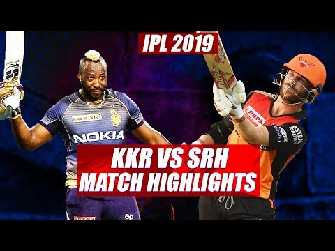 IPL 2019: Kolkata Knight Riders vs Sunrisers Hyderabad Match Highlights