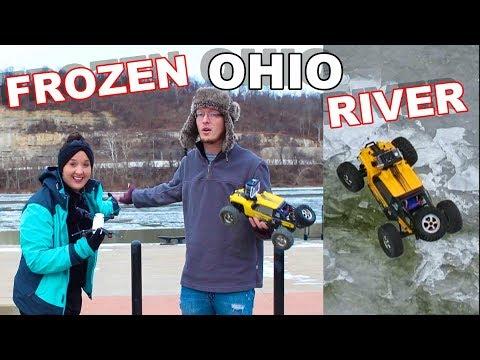 RC Truck Stuck - Frozen Ohio River - TheRcSaylors - UCYWhRC3xtD_acDIZdr53huA
