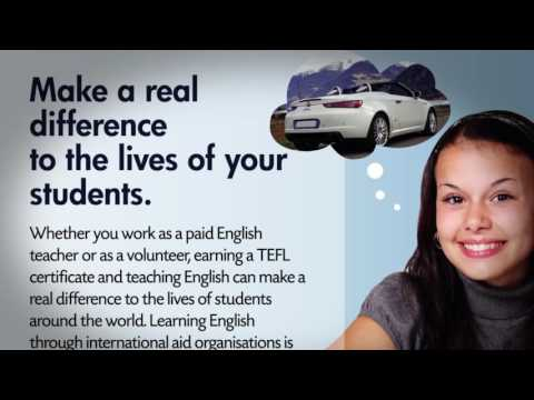 what can you do with a TEFL certificate
