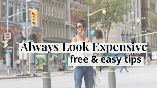 How to Always Look Expensive - Easy & Simple Tips | Slow Fashion