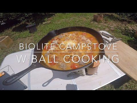 BioLite Campstove W Ball Cooking