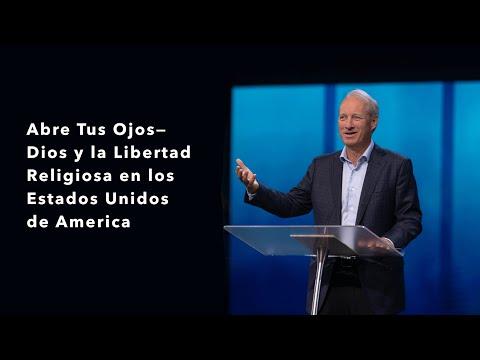 Abre Tus OjosDios y la Libertad Religiosa en los Estados Unidos de America