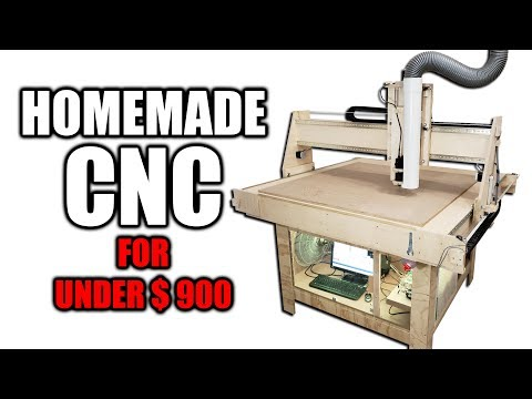 DIY CNC Router for Under $900 - Free Plans Available - UCoNdHj3AnsFD8IjLCxm4EFw