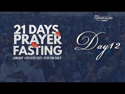 DOMI STREAM : DAY 12  ANNUAL PRAYER & FASTING  15, JANUARY 2021  FAITH TABERNACLE OTA