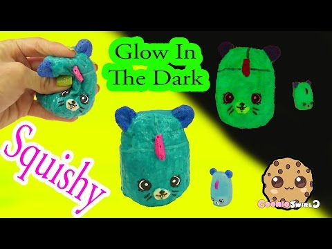 DIY Glow In The Dark Squishy Shopkins Season 5 Petkins Inspired Craft Do It Yourself by Cookieswirlc - UCelMeixAOTs2OQAAi9wU8-g