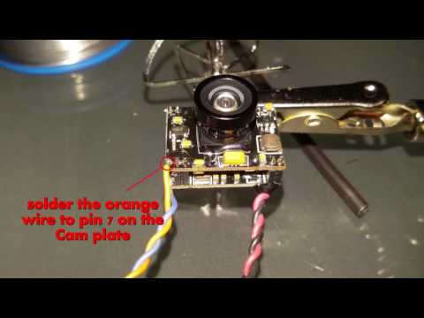 Eachine Aurora - HOWTO - swap out / change stock cam with Eachine TX03 without loose OSD - UC7DWwXOOpEnov2JfRW5MLfQ
