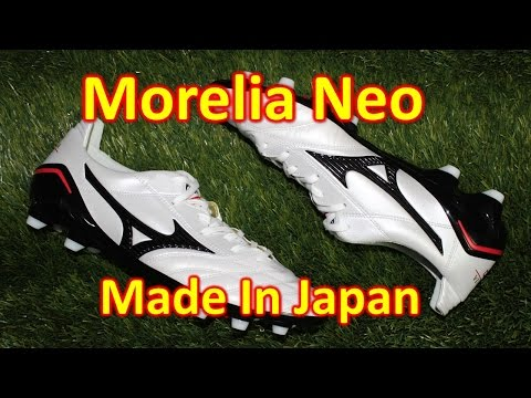 Mizuno Morelia Neo MIJ (Made In Japan) - Unboxing + On Feet - UCUU3lMXc6iDrQw4eZen8COQ