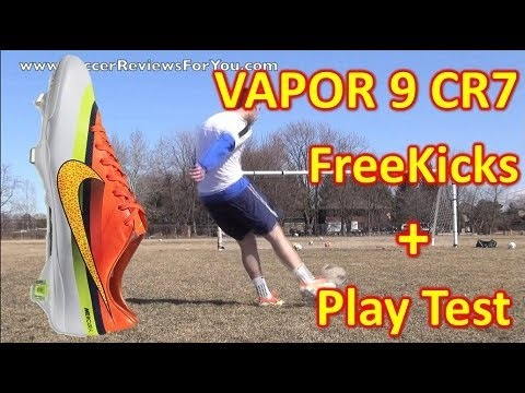 Nike CR7 Mercurial Vapor IX 9 (Ronaldo Edition) Review - Freekicks + Play Test - UCUU3lMXc6iDrQw4eZen8COQ