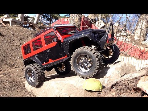 MALL CRAWLER goes Off Road on Backyard Trail Course - Founder 2 RUBICON 8th Scale | RC ADVENTURES - UCxcjVHL-2o3D6Q9esu05a1Q