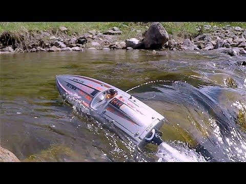 ProBoat JetBoat river surf and crawl Scale Town - RC CWR - UCfWSuYFdjOrHquQRDx9fJzw
