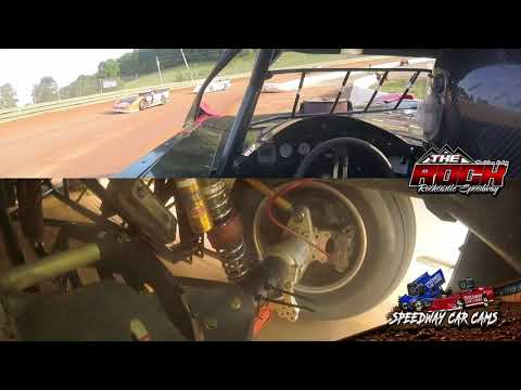 Right Rear Chassis Footage from The ROCK - 7-9-21 Rockcastle Speedway - In-Car Camera - dirt track racing video image