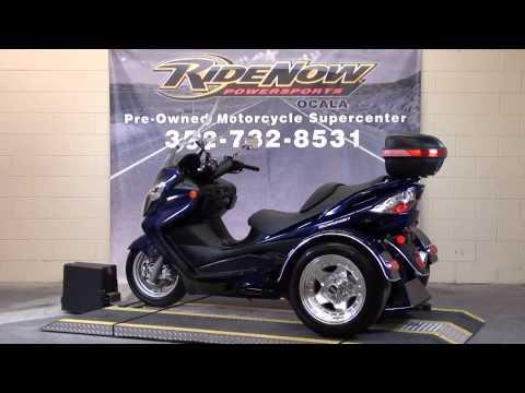 2007 Suzuki Burgman 400 Trike