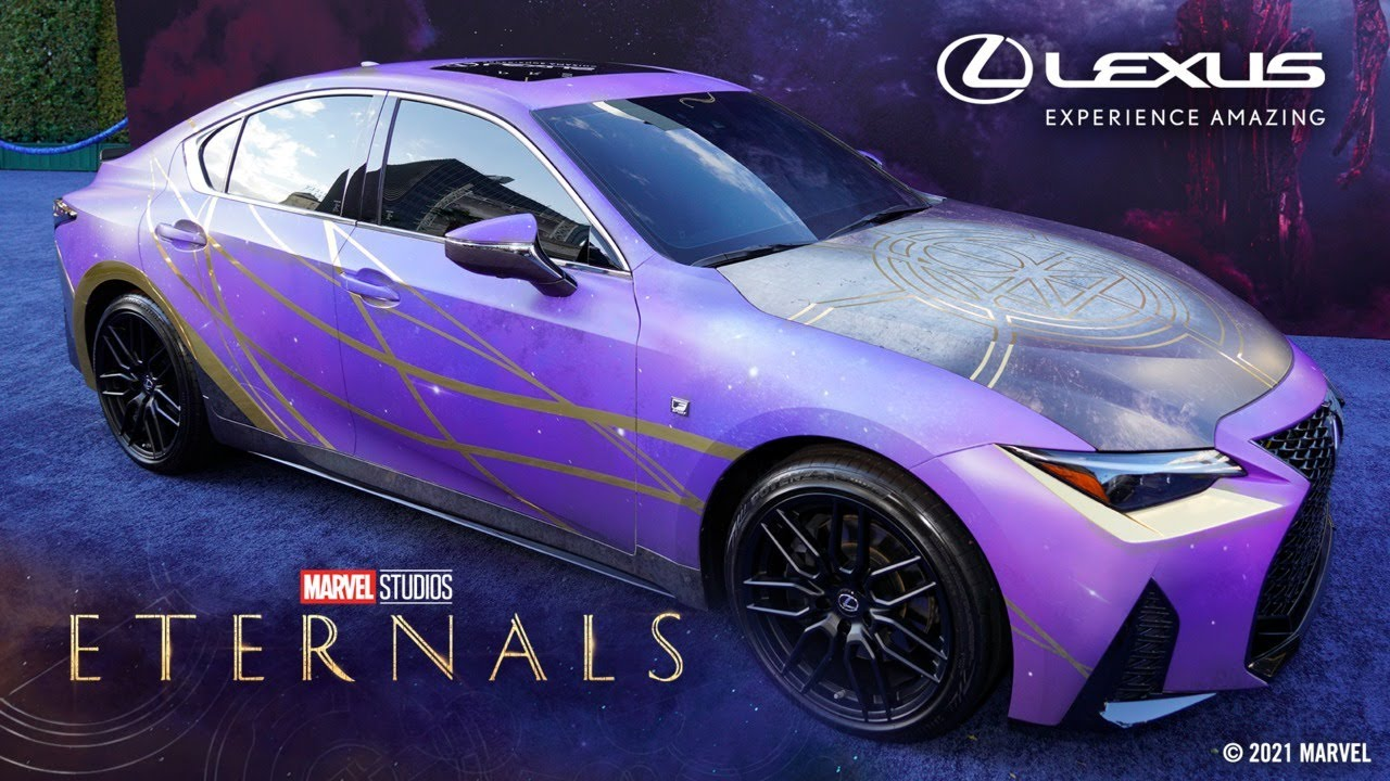 Lexus Unveils Marvel Studios' Eternals Inspired Cars LIVE on the Red Carpet