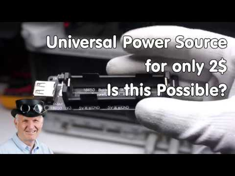 Universal Power Source (UPS) for only 2$. Is this possible? (Raspbery Pi, Arduino, ESP32) - UCu7_D0o48KbfhpEohoP7YSQ