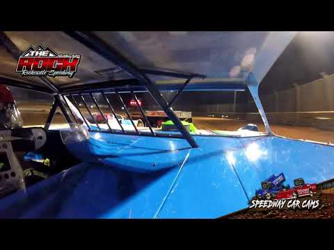 #98 Eric Maples - Crate Late Model - 10-2-21 Rockcastle Speedway - In-Car Camera - dirt track racing video image