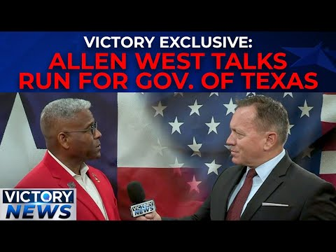 Victory News Exclusive: Allen West running for Governor of Texas