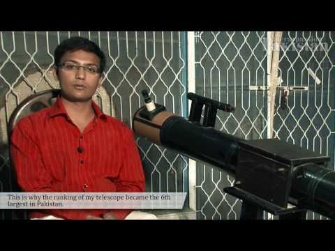 Mahmood develops Pakistan's 5th powerful telescope