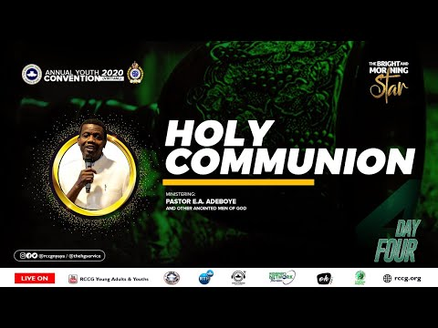 RCCG OCTOBER 2020 HOLY COMMUNION SERVICE