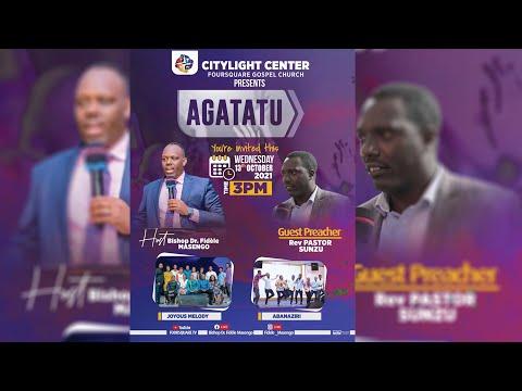 FOURSQUARE TV  AGATATU SERVICE WITH  PASTOR SUNZU 13.10.2021