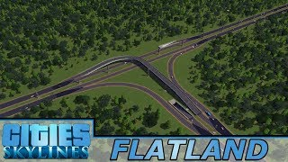 [49] Building The Regional Highway| Flatland - Cities: Skylines