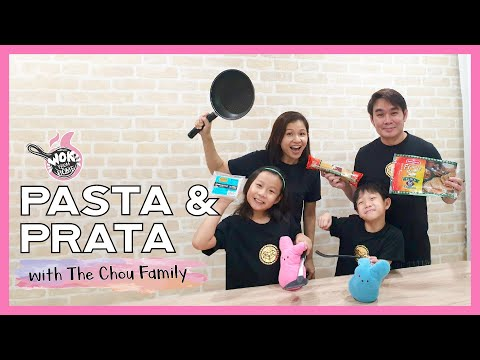 PASTA & PRATA with The Chou Family  WOK FROM HOME  Cornerstone Stay Home Series  EP.5