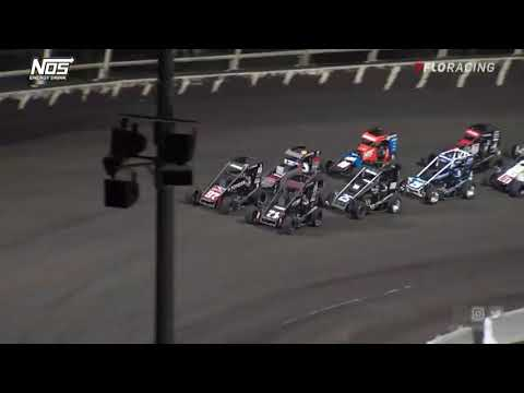 USAC NOS Energy Drink National Midget Highlights   Huset's Speedway USAC Nationals   9/11/2021 - dirt track racing video image