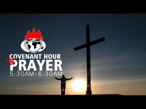 DOMI STREAM: COVENANT HOUR OF PRAYER  6, AUGUST  2021 FAITH TABERNACLE