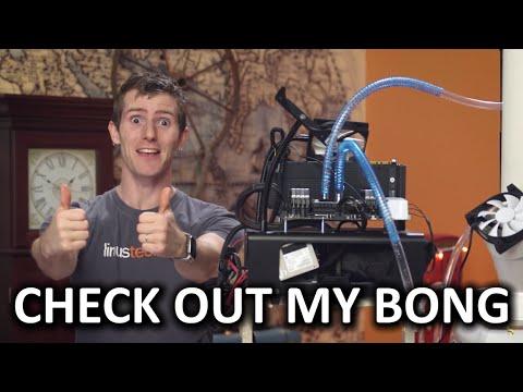 """""""Bong"""" CPU Cooler Build Showcase - It's like, evaporation, maaaaaan - UCXuqSBlHAE6Xw-yeJA0Tunw"""