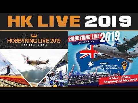 HobbyKing Live 2019 - Events Announcement - UCkNMDHVq-_6aJEh2uRBbRmw