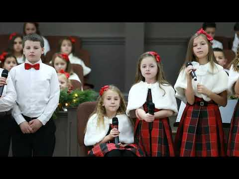 , kids at Church of Hope, 12/22/2019