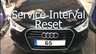 Reset Service Audi A1 Motoriefaidate