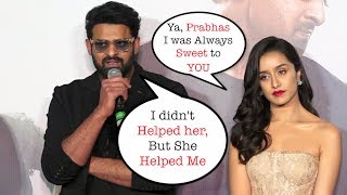 Oh No !Prabhas & Shraddha Kapoor EGO CLASH in Front of MEDIA |SAAHO RELEASE