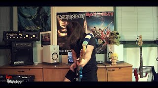The Evil That Men Do Bass Cover